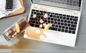 Ремонт ноутбука после залития
