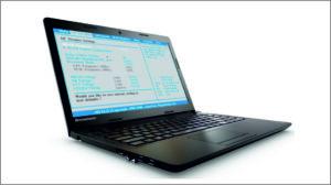 Прошивка BIOS ноутбука